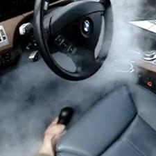 Паровая чистка автомобиля